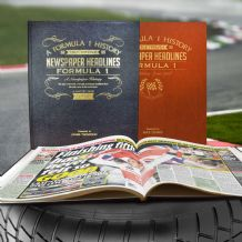 Formula One History - Newspaper Book